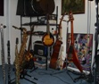 Franklin's instruments (flutes, saxes and clarinet) at Raimundo Studio