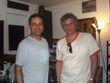 Gerardo and Raimundo at Raimundo's studio